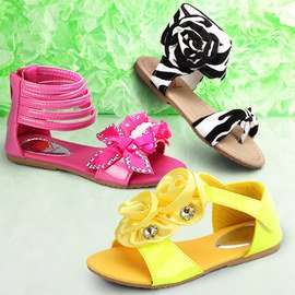 Snazzy Steps: Girls' Sandals