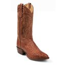 Tony Lama Men's Vintage Full Quill Ostrich Exotic Western Boots