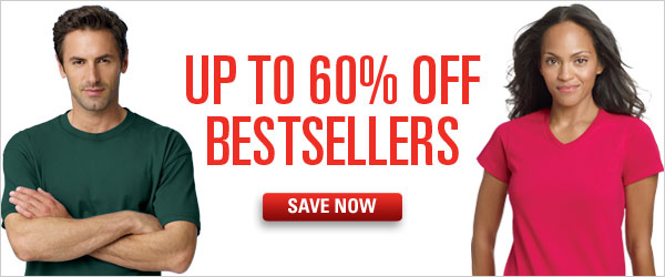 Up to 60% off Bestsellers