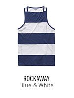 Blue & White Stripe Tank Top