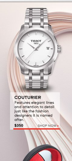 Couturier - this timepiece features elegant lines and attention to detail, just like the fashion designers it is named after. $350