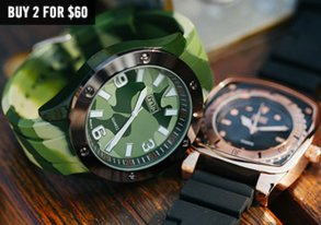 Shop Wrist Swag: New Camo Watches & More