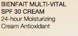 BIENFAIT MULTI-VITAL SPF 30 CREAM | 24-hour Moisturizing Cream Antioxidant