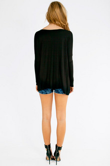 Back to Basics Long Sleeve Top $28