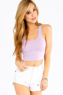 Short And Simple Crop Top $8