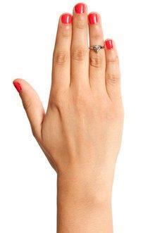 Pyramid Glam Ring $5