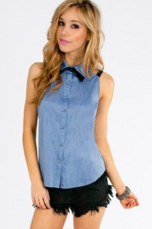 Outback Button Down Top $32