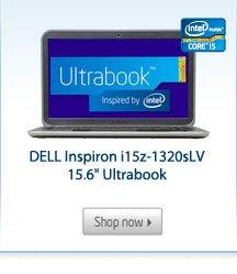 "DELL Inspiron i15z-1320sLV 15.6"" Ultrabook"