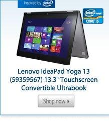 """Lenovo IdeaPad Yoga 13 (59359567) 13.3"""" Touchscreen Convertible Ultrabook"""