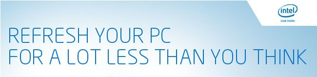 Refresh your PC for a lot less than you think.