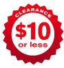 CLEARANCE $10 or less