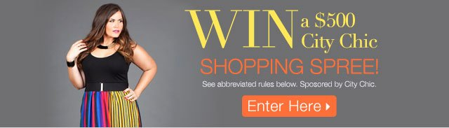Win a City Chic Shopping Spree