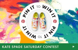 Kate Spade Saturday - Launch Contest