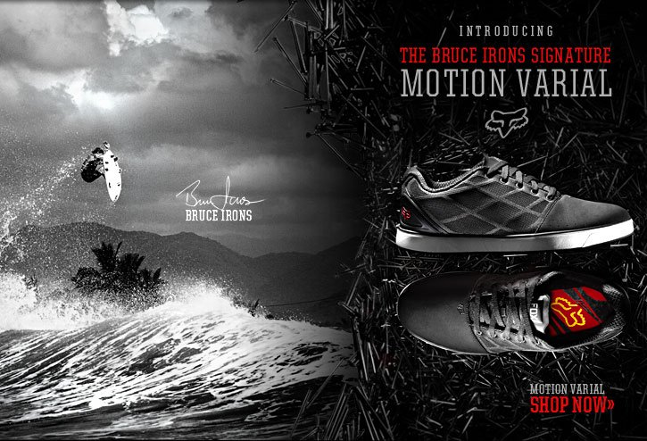 Bruce Irons Signature Shoe - Motion Varial