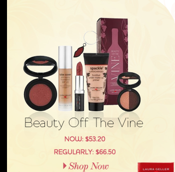 Beauty Off The Vine - NOW: $53.20 - REGULARLY: 66.50