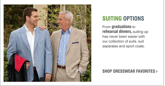 Shop All Summer Suiting