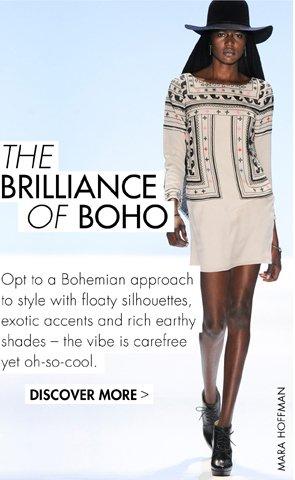The brilliance of boho