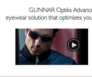 GUNNAR Optiks Advanced Outdoor Eyewear is a technical eyewear solution that optimize your vision when viewing electronics outdoors