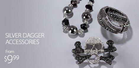 Silver Dagger Accessories
