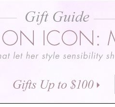 Gifts Up to $100