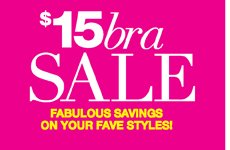 $15 Bra Sale:Fabulous Savings on Your Fave Styles!