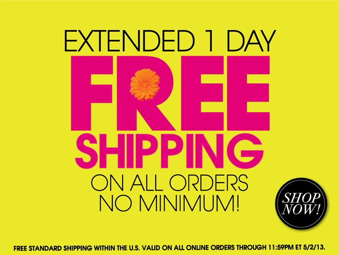 Free Shipping - Extended 1 More Day!