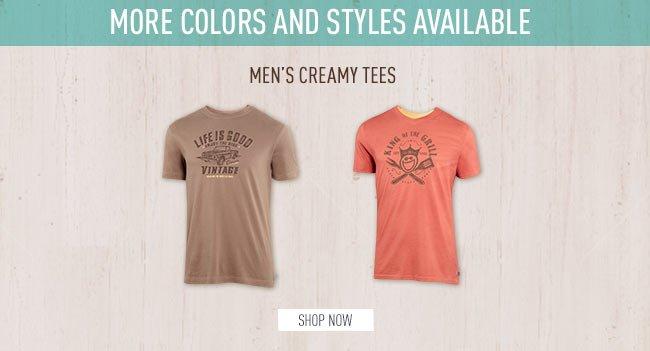 Shop Men's Creamy Tees