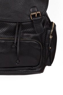 Romi Leather Backpack $53