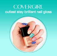 As long as a week of high-shine color with COVERGIRL DIY Nail Art. Get inspired »