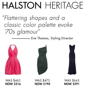 HALSTON HERITAGE UP TO 60% OFF