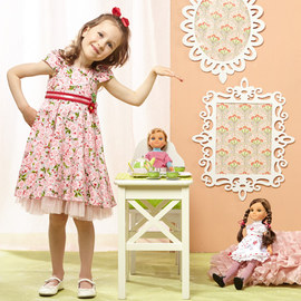 Tea Party: Girls' Apparel & Accents