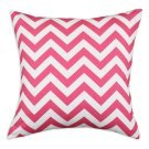 Zig Zag Candy Pink Pillow