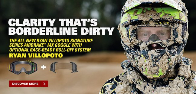 ANNOUNCING THE OAKLEY AIRBRAKE™ MX INNOVATIVE ROLL–OFF SYSTEM