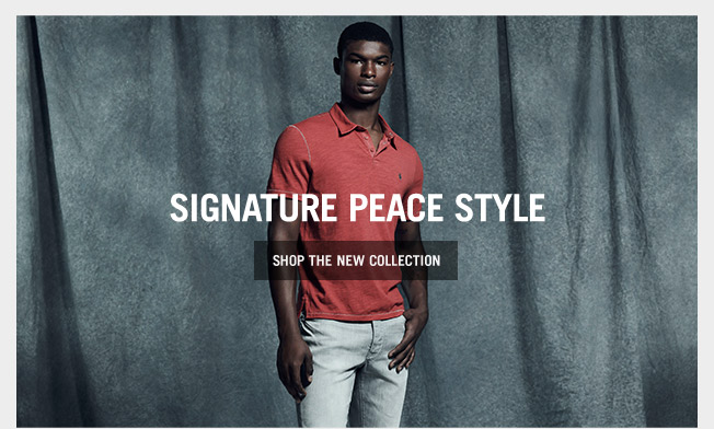 Shop Our Signature Peace Style