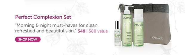 Perfect Complexion Set: Her morning & night must-haves for clean, refreshed...