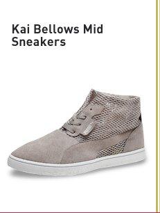 KAI BELLOWS MID SNEAKERS