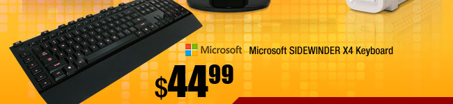 Microsoft SIDEWINDER X4 Keyboard