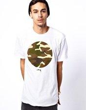 Stussy T-Shirt Camo Circle