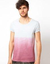 ASOS T-Shirt With Dip Dye