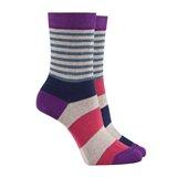 Paul Smith Socks - Purple Odd Stripe Socks