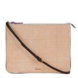 Cream Woven Loe Bag