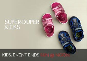 SUPER-DUPER KICKS - KIDS SHOES