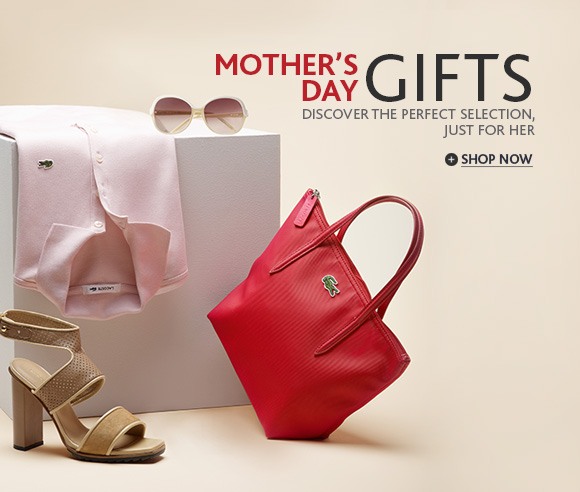 MOTHER'S DAY GIFTS. DISCOVER  THE PERFECT SELECTION, JUST FOR HER. SHOP NOW