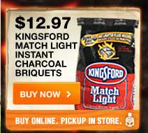 Kingsford Match Light Instant Charcoal