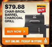 Char-Broil Barrel Charcoal Gril