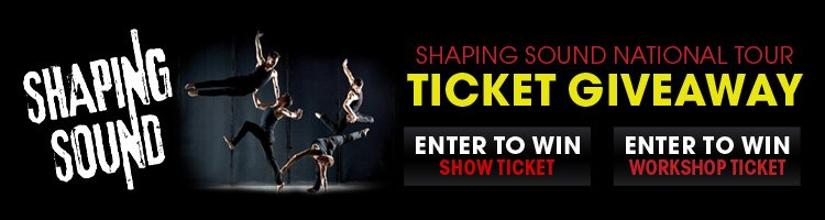 Shaping Sound Ticket Giveaway!