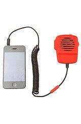 The Walkie Talkie Microphone & Speaker in Red
