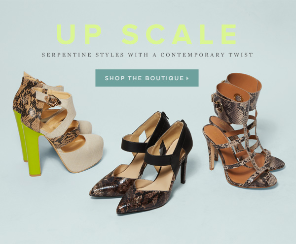 Up Scale: A New Boutique Filled with Chic Serpentine Styles   Shop the Boutique