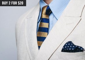 Shop Brand New: Boldly Patterned Ties