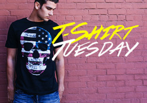 Shop T-Shirt Tuesday ft. Porch Light